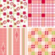 Royalty-Free Stock Vector Image: Retro seamless pattern