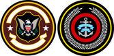 Emblem badge set — Stock Vector