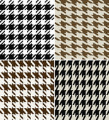 Fashion abstract hounds tooth pattern — Stock Vector