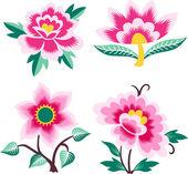 Creative flower design — Stock Vector
