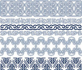 Oriental traditional pattern — Stock Vector