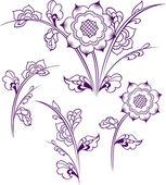 Flower design — Vector de stock