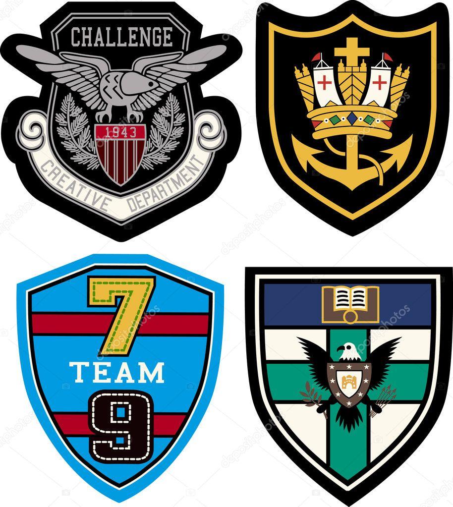 Classic Emblems Classic Heraldic Emblem Badge