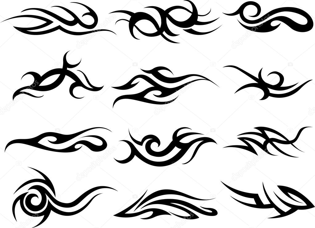 tattoo prices tribal — #10069299 design Vector Stock © pauljune Tribal element
