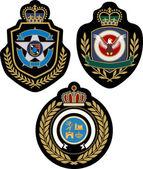 Emblem badge design — Stock Vector