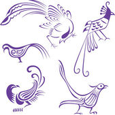Bird illustration — Stock Vector