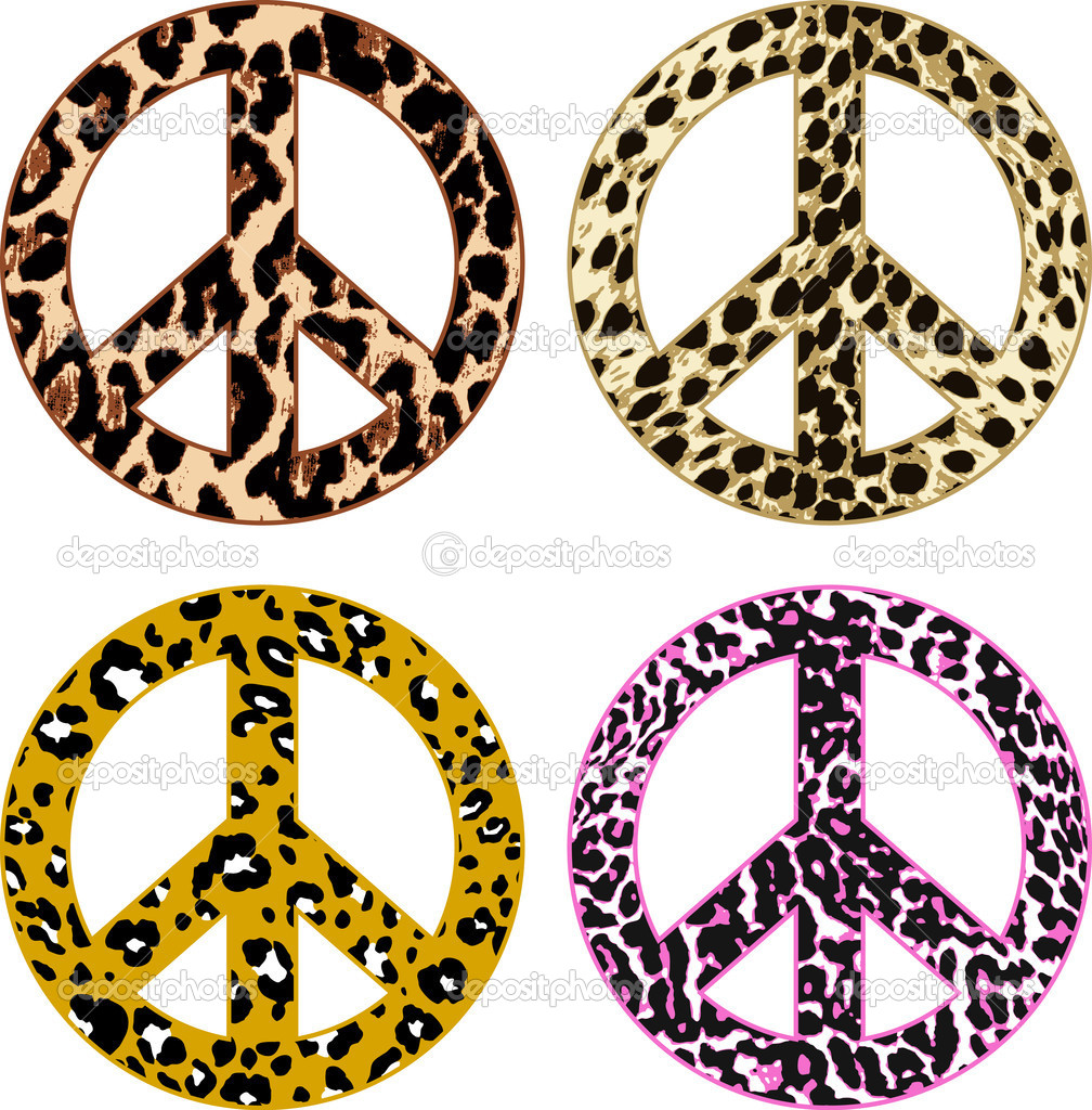 Animal Print Designs Animal Print Peace Design