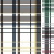 Stock Vector: Fabric plaid check pattern