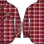 Man check shirt — Stock Vector #10092848