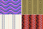 Abstract fabric pattern — Stock Vector