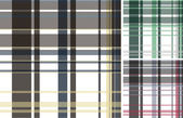 Fabric plaid check pattern — Vecteur