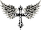 Heraldic cross — Stock Vector