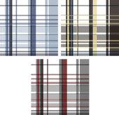 Fabric plaid check pattern — Vetor de Stock
