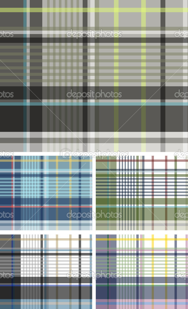 Fabric plaid check pattern — Stock Vector #10154842