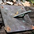 Antique Sundial — Stock Photo