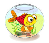 Fish in aquarium — Stock Vector