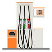 Modern Gas Pump — Stock Vector
