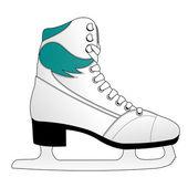 Women's skates — Stock Vector