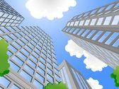 Modern city — Stock Vector