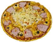 Ham pizza — Stock Photo