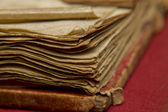 Worn book pages — Stock Photo