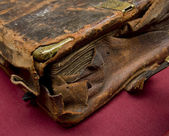 Worn book cover — Stock Photo
