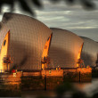 Thames Barrier — Stock Photo