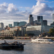 London Financial District — Foto Stock