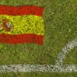 Stock Photo: Football Flag
