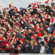 Football Crowd — Stock Photo