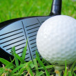 Golf Ball on Tee — Stock Photo #9253434