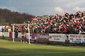 Football Crowd — Stock Photo