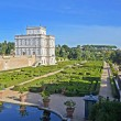 Panorama of villa pamphili in rome — Stock Photo