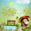 Fairy Garden — Stock Photo