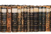Row of Antique Books — Stock Photo