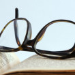 Reading glasses — Stock Photo