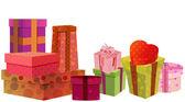 Gift boxes vector — Stock Vector