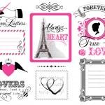 Design elements - St. Valentine's Day — Stock Vector