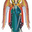 Archangel Michael - Stock Vector