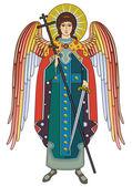 Archangel Michael — Stock Vector