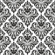 Damask wallpaper - Stock Vector