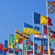 National flags of different countries — Stock Photo #9415594