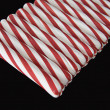 Angled Peppermint Sticks - Stock Photo