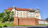 Castillo de wawel en cracovia — Foto de Stock