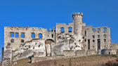 Castle ruins in Ogrodzieniec, Poland — Stock Photo