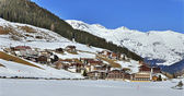 Ski Resort Hintertux — Stock Photo