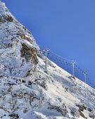 Alp telesiyej — Stok fotoğraf