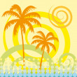 Royalty-Free Stock Vector Image: Tropical palm tree