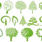 Environment symbols — Stock Vector #9405347
