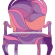 Royalty-Free Stock Vector Image: Classical armchair